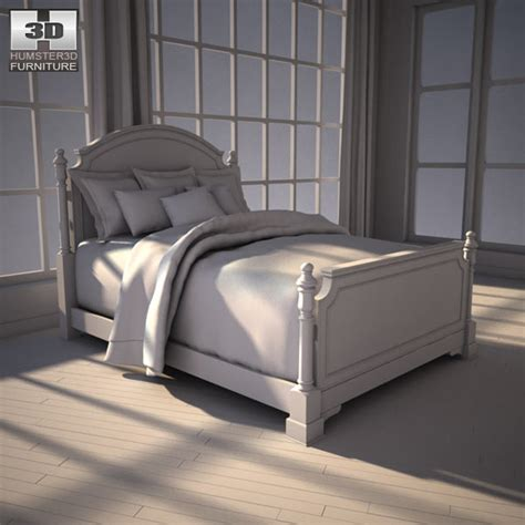ashley leighton bedroom set ashley leighton queen poster bed 3d model humster3d