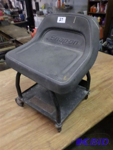 Snapon Stool by Snap On Rolling Work Stool Le Auto Shop Liquidation