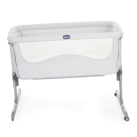 lit co sleeping chicco co sleeping bed next2me 2018 light grey buy at