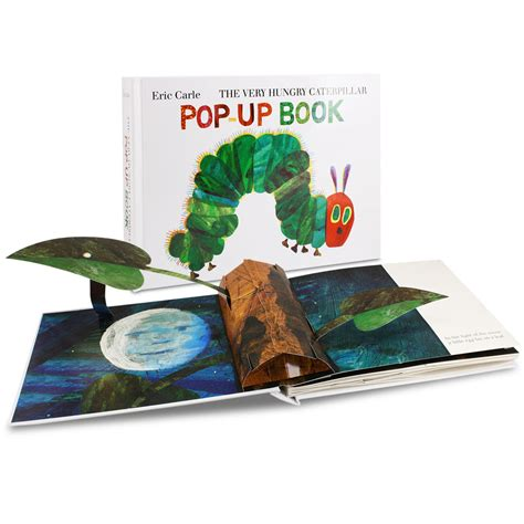 pop up picture books book hungry caterpillar pop up book