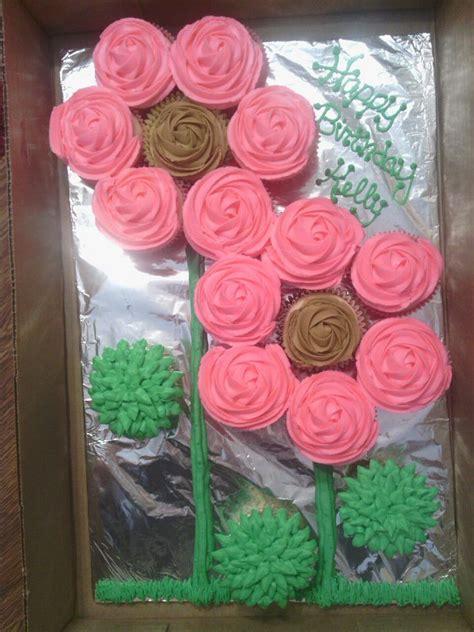 flower cupcakes cake cupcakes pinterest flower cupcake cake flower cupcakes  cake