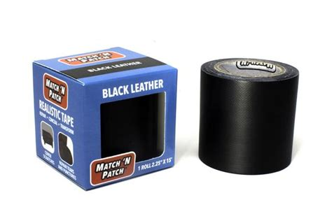 upholstery repair tape products black leather repair tape match n patch