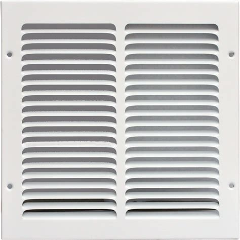 Grille Vent Cover by Speedi Grille 10 In X 10 In Return Air Grille Vent Cover