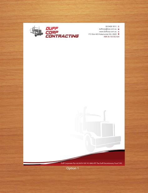 letterhead design graphic designing services at cheap prices