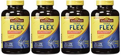Nature Made Tripleflex Strength 170 Caplets Ready Stock nature made tripleflex glucosamine chondroitin and msm 4 bottles 170 caplets each