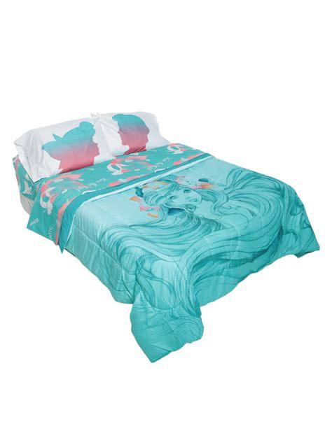 disney the little mermaid sketch full queen comforter