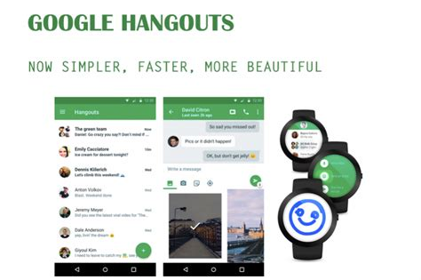 peak design google hangout google hangouts 4 now available with material design