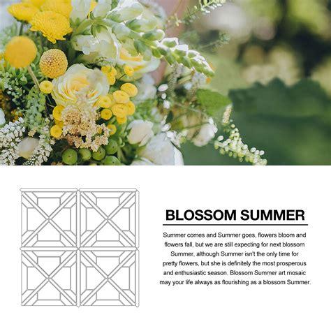 summer on blossom a novel a blossom novel water jet mosaic centurymosaic top marble mosaic tile