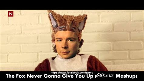 never gonna give you up mp ylvis the fox never gonna give you up ft rick astley