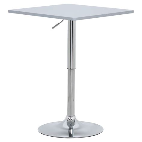 bar table bistro table spuare kitchen dining swivel pub
