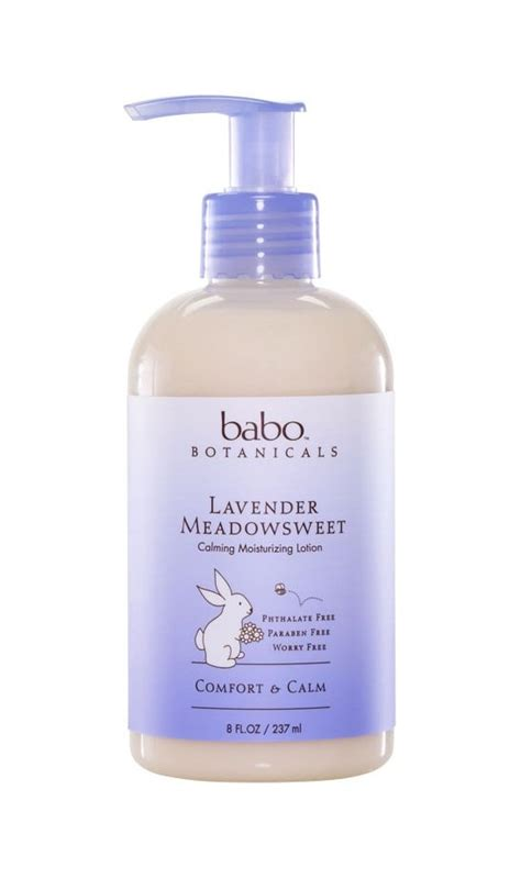Nature Lotion Relaxing Lavender babo botanicals lavender meadowsweet calming baby moisturizing lotion 8 ounce