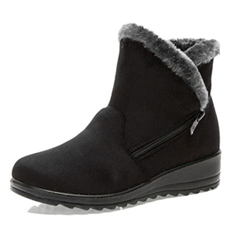 new large size winter boots toe ankle