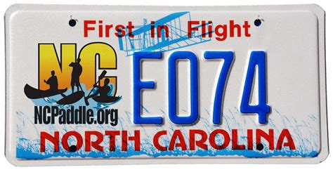 Nc Vanity Plates by Friends Of The Hammocks And Island Inc Nc Paddle
