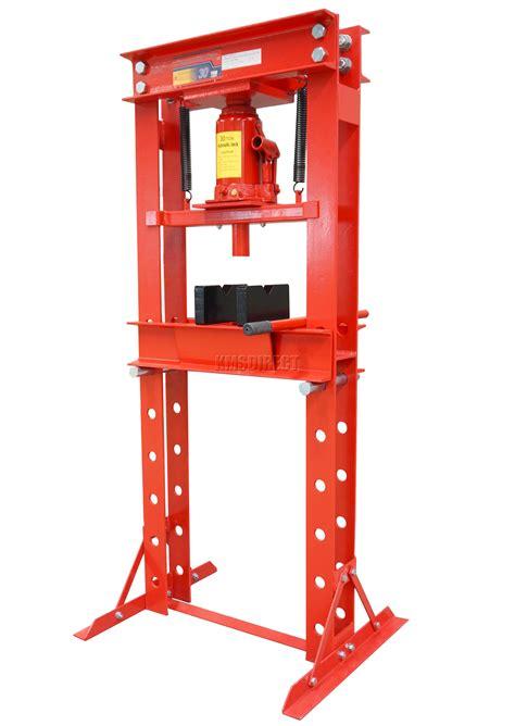 Garage With Workshop Plans Foxhunter Red 30 Ton Tonne Hydraulic Workshop Garage Shop