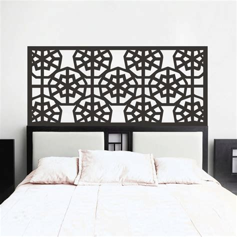 wall decal headboards awesome headboard wall decal modern house design awesome
