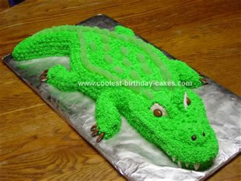 crocodile template cake ideas and designs
