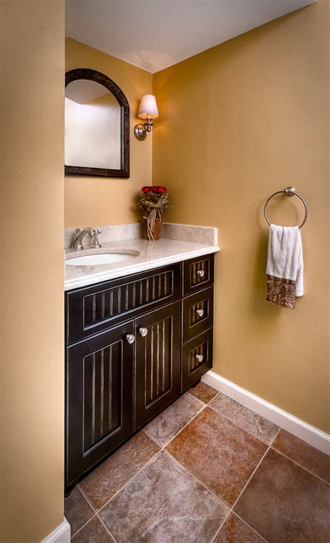 placement of towel bars in bathrooms powder room makeover towel ring placement