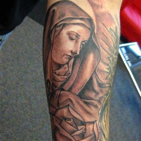 virgin mary tattoos3d tattoos