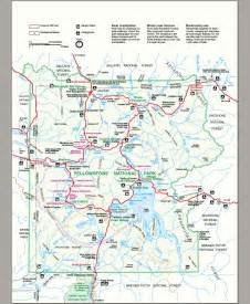 yellowstone national park map travel tips http airplane