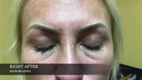 microblading before and after by lindsey ta at permanent