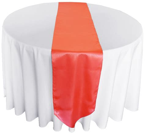 cheap coral table runners table runners astounding coral satin table runners high