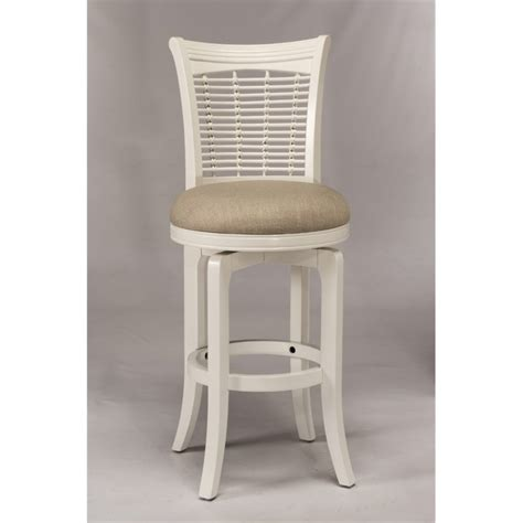 24 inch white swivel bar stools hillsdale bayberry 24 quot swivel counter stool in white