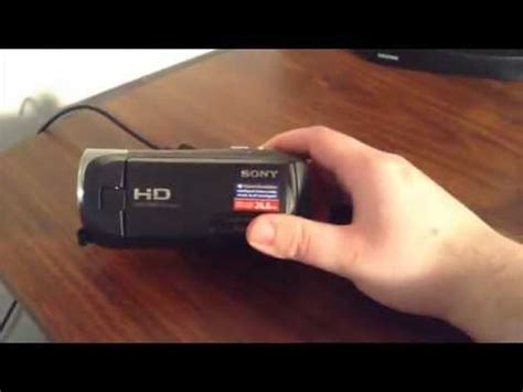 sony handycam hdr cx405 camera unboxing youtube