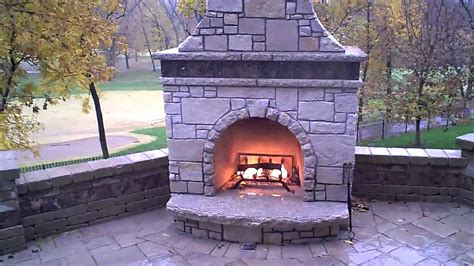 stone fireplace firerock kit with custom veneer youtube