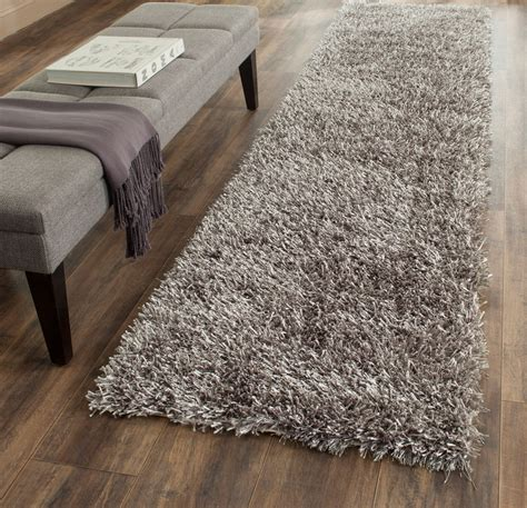 new orleans rugs plush pile grey shag rug new orleans collection safavieh