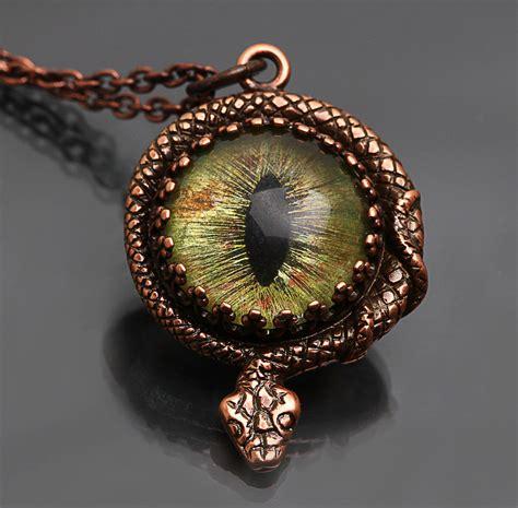 Snakes On A Ring Snakes On A Necklace Snakes By Sydney Evan by Snake Eye Snake Pendant Necklace By Byrdldy On Deviantart