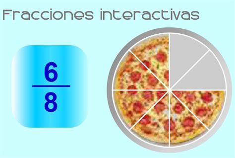 imagenes matematicas de fracciones juegos de fracciones aprende y divi 233 rtete en cokitos