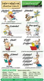 interrogativos en espa 241 ol question words in spanish