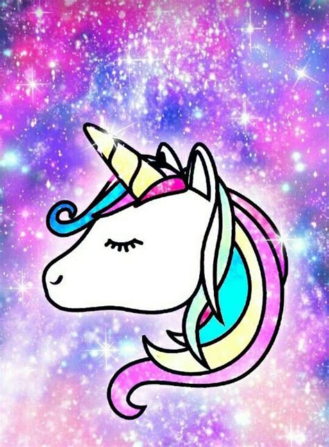 unicornio fondos de pantalla unicorn wallpapers por unicornio walpaper kawaii con galaxia de fondo