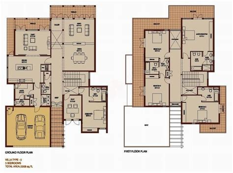 arabian ranches floor plans arabian ranches saheel type 5 floor plan