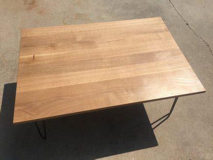 quarter sawn white oak coffee table by jeremydg