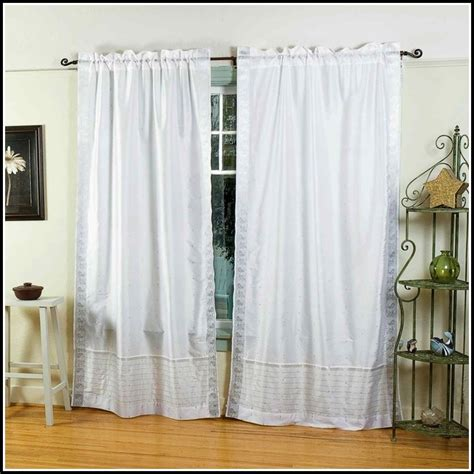 double rod pocket sheer curtains double rod pocket sheer curtains curtains home design