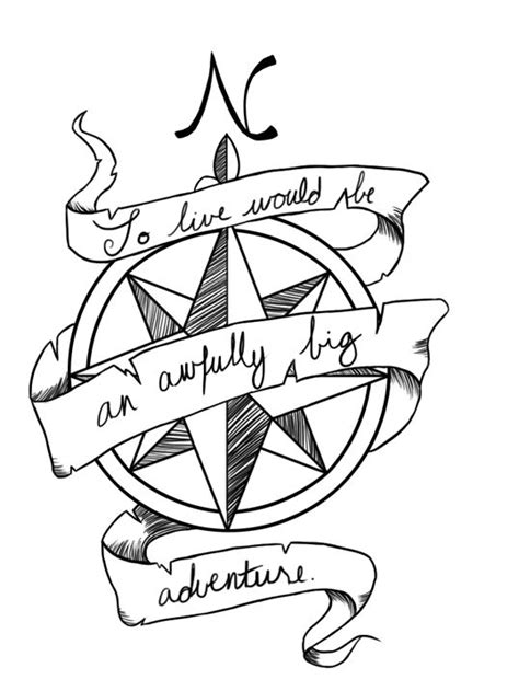 compass tattoo sayings compass quote ink pinterest quotes peter pan and