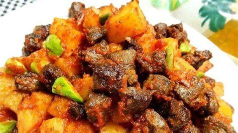 resep sambal goreng kentang ati ampela  sajian khas