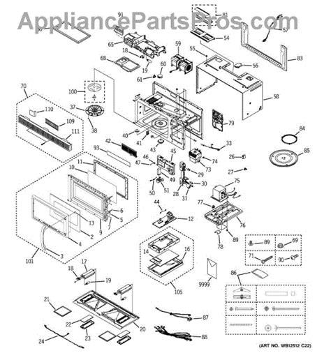 ge microwave parts diagram parts for ge jvm1430wd002 microwave parts
