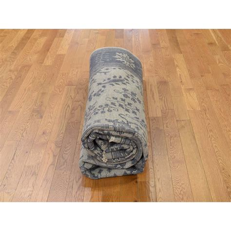 10 x9 rug 8 1 quot x9 10 quot knotted turkish knot oushak wool
