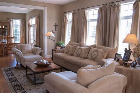 Gary   Gayle: Cincinnati, Ohio   Farmhouse   Living Room