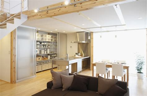 small open space house plans simple open plan home generating equilibrated small spaces by muji homesthetics