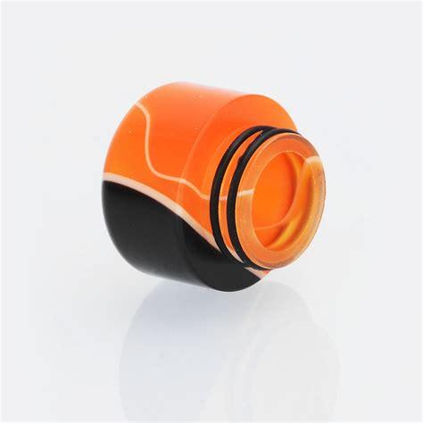 Acrylic 15mm 15mm black orange acrylic drip tip for tfv12 tfv8 tfv8 big baby