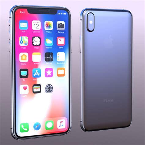 3 iphone x models iphone x 3d model sharecg