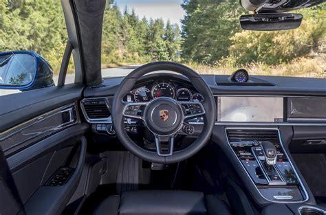 porsche panamera dashboard porsche panamera sport turismo review 2018 autocar