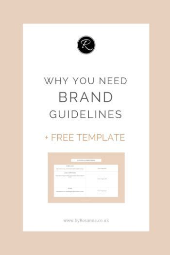 25 Best Ideas About Brand Guidelines Template On Pinterest Brand Guidelines Brand Manual And Free Brand Guidelines Template