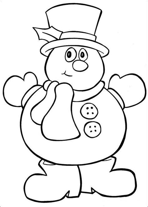 christmas coloring page for toddler christmas color pages for kids wallpapers9