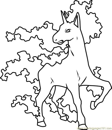 pokemon coloring pages rapidash 85 pokemon coloring pages rapidash 022 fearow
