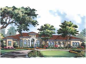 mediterranean style house plans with photos one story mediterranean style hwbdo15064 mediterranean