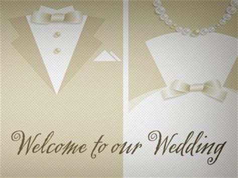 Church Powerpoint Template Wedding Welcome Bible Rings Sermoncentral Com Welcome To Our Wedding Template